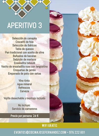 APERITIVOS 3